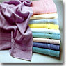 White and Dyed Towels 8